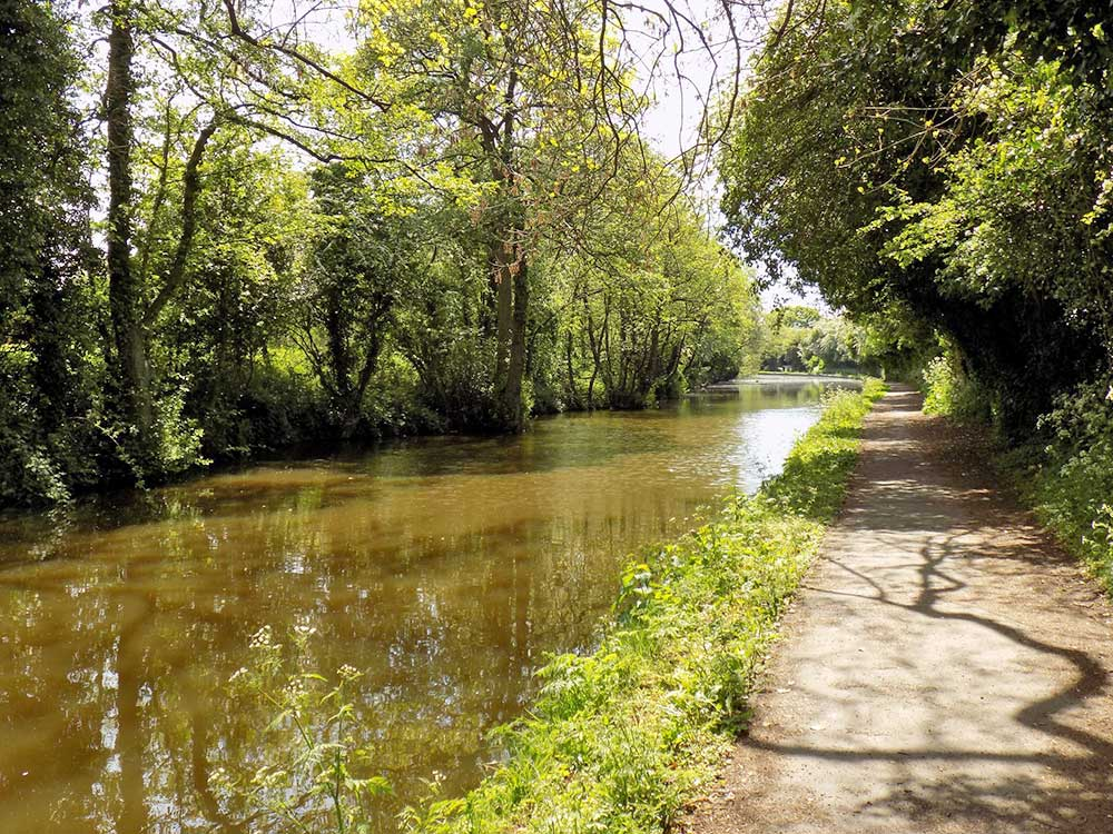 Canal near Trentham House Care Home