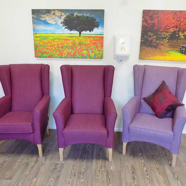 Trentham House Care Home Chairs
