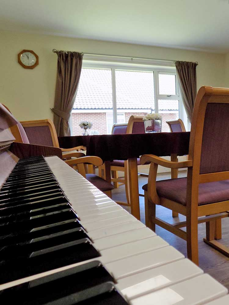 Trentham House Care Home Activity Room